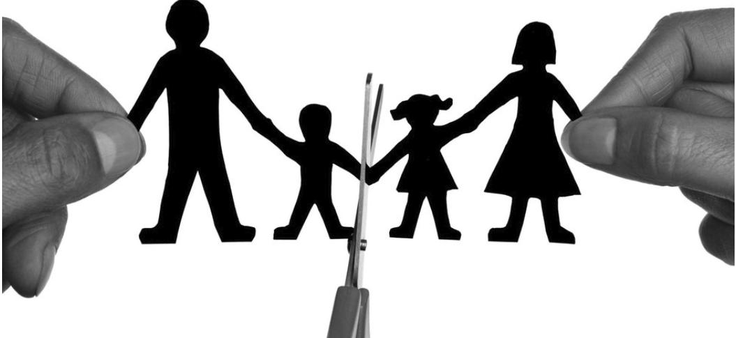 ¿Cuál es la diferencia entre la separación y el divorcio?